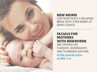 moms baby facials