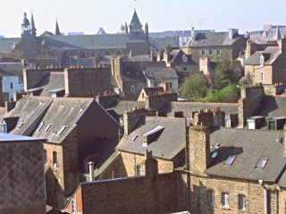 Vue cathédrâle Hôtel de Clisson