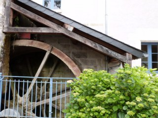 roue à augets moulin val orquaire Touraine