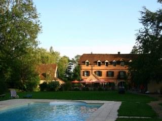 Le Moulin et sa piscine
