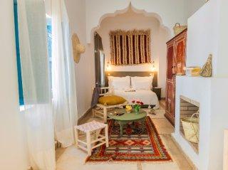 chambre double supérieure riad chamali médina marrakech Maroc