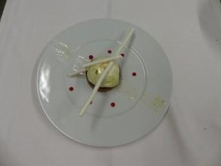 tartelette au chocolat Guanaja et déclinaison de citron vert