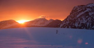 bivouac altipik mont-saxonnex coucher soleil