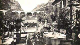Vue du Viaduc depuis l'Auberge des Gorges du Loup (anciennement Le Pavillon des Touristes)