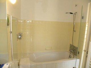 chambre double-cote village - bain -