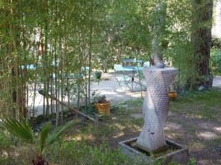 Le grand jardin et ses terrasses