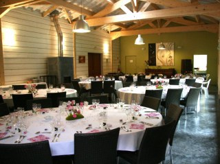 wedding tables Lonceux