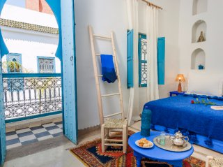 accès chambre riad chamali medina marrakech maroc