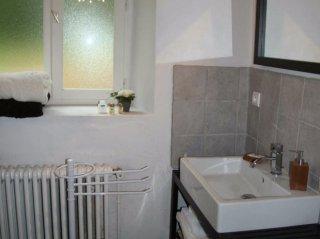le meunier-double room-moulin de lonçeux-B&B- eure et loir-bathroom