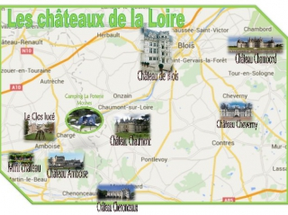 Château Loire - Camping Mosnes - Camping Amboise