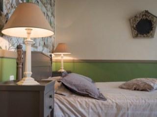 lit double chambre normande les champs français