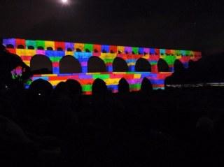 Le Pont-du-Gard dans toute sa beauté!