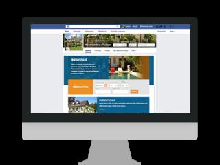 facebook application hotel