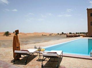 Piscine Naturelle Hotel Kanz Erremal Desert