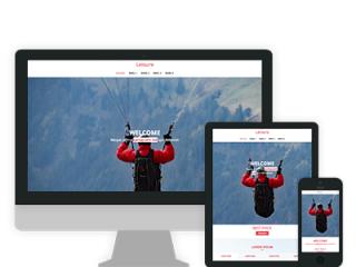 loisirs site responsive