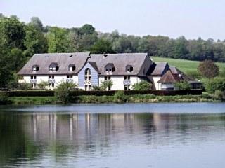eden park hotel - normandie - pont l'eveque - lac -