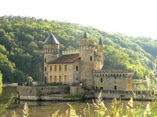Château de la roche Loire