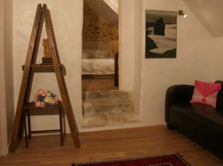 Family suite-common area-chilling room-moulin de lonceux-B&B-eure et loir