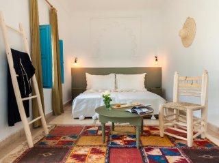 chambre double supérieure 2 riad chamali médina marrakech Maroc