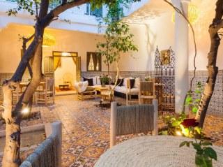 oatio aux orangers riad chamali marrakech médina maroc