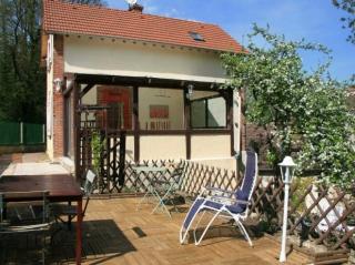 self-cattering cottage-terrasse-moulin de lonceux-eure et loir-chartres