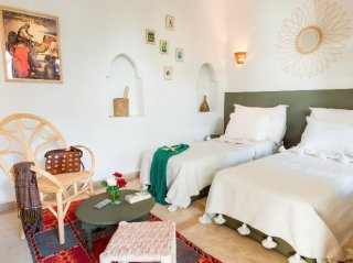Chambre simple  riad de chamali  marrakech