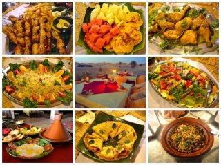 Salon Restaurant Kanz Erremal Maroc