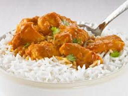 le BUTTER CHICKEN...