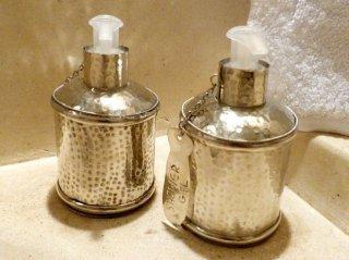 prioduits de courtoisie salle d'eau riad chamali médina marrakech Maroc