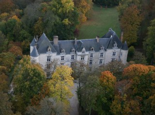 Il castello visto dall'alto