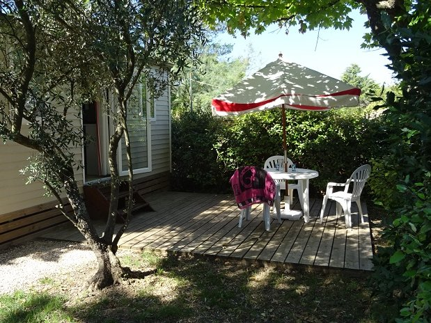 CAMPING L OLIVIER - SOMMIERES - NIMES – LOCATION MOBIL HOME 2 PERSONNES GARD