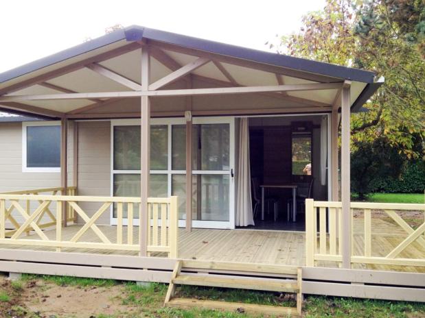 Mobil-home pavillon classic pmr camping familial Isère nature parc aquatique