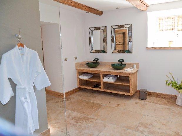 salle de bain chambre bastidon maison luxe provence
