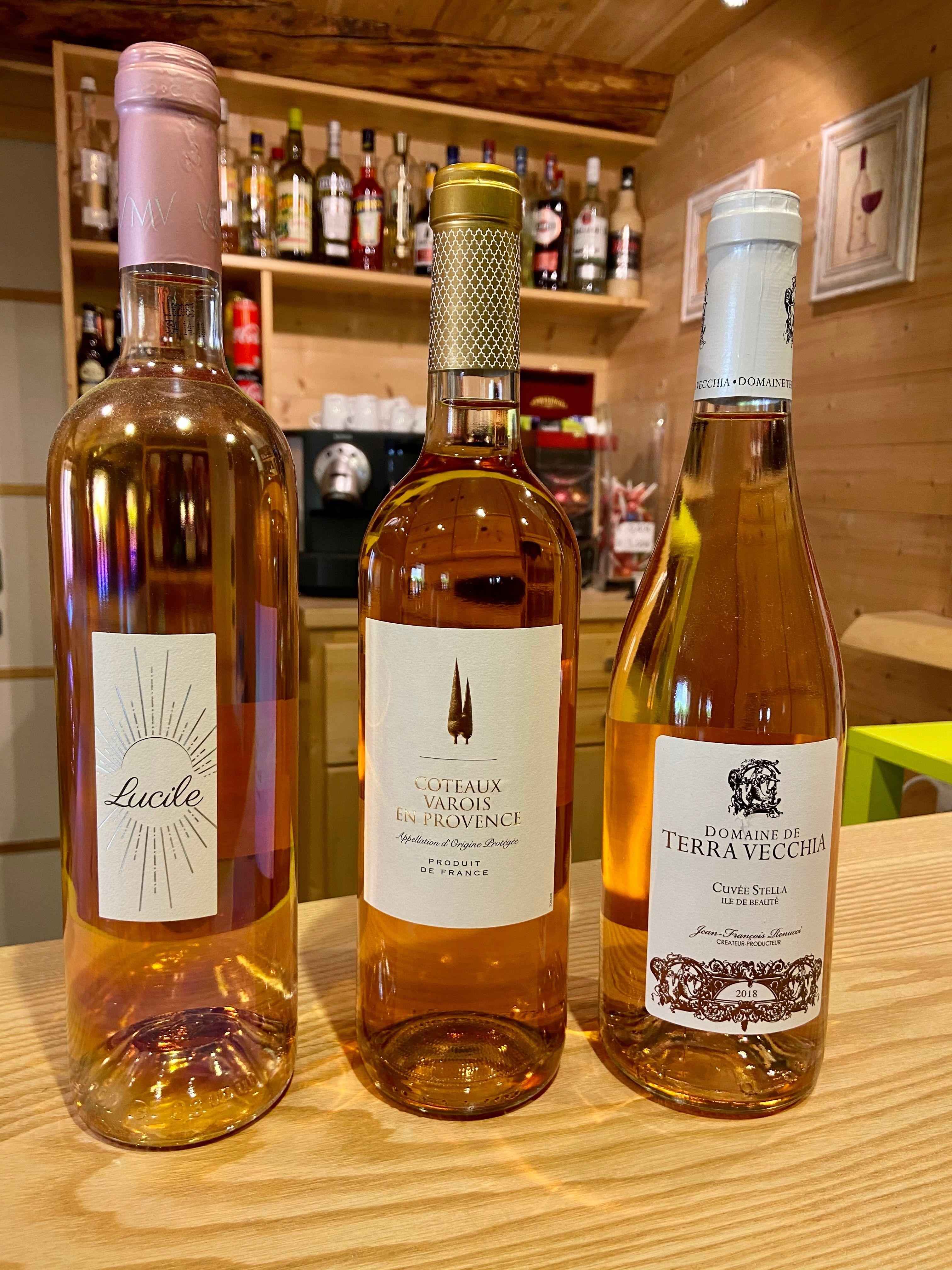 Selection rosé françaises