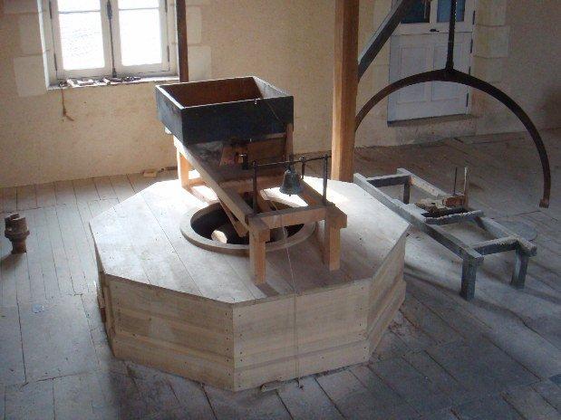 chambre des meules moulin val orquaire Touraine