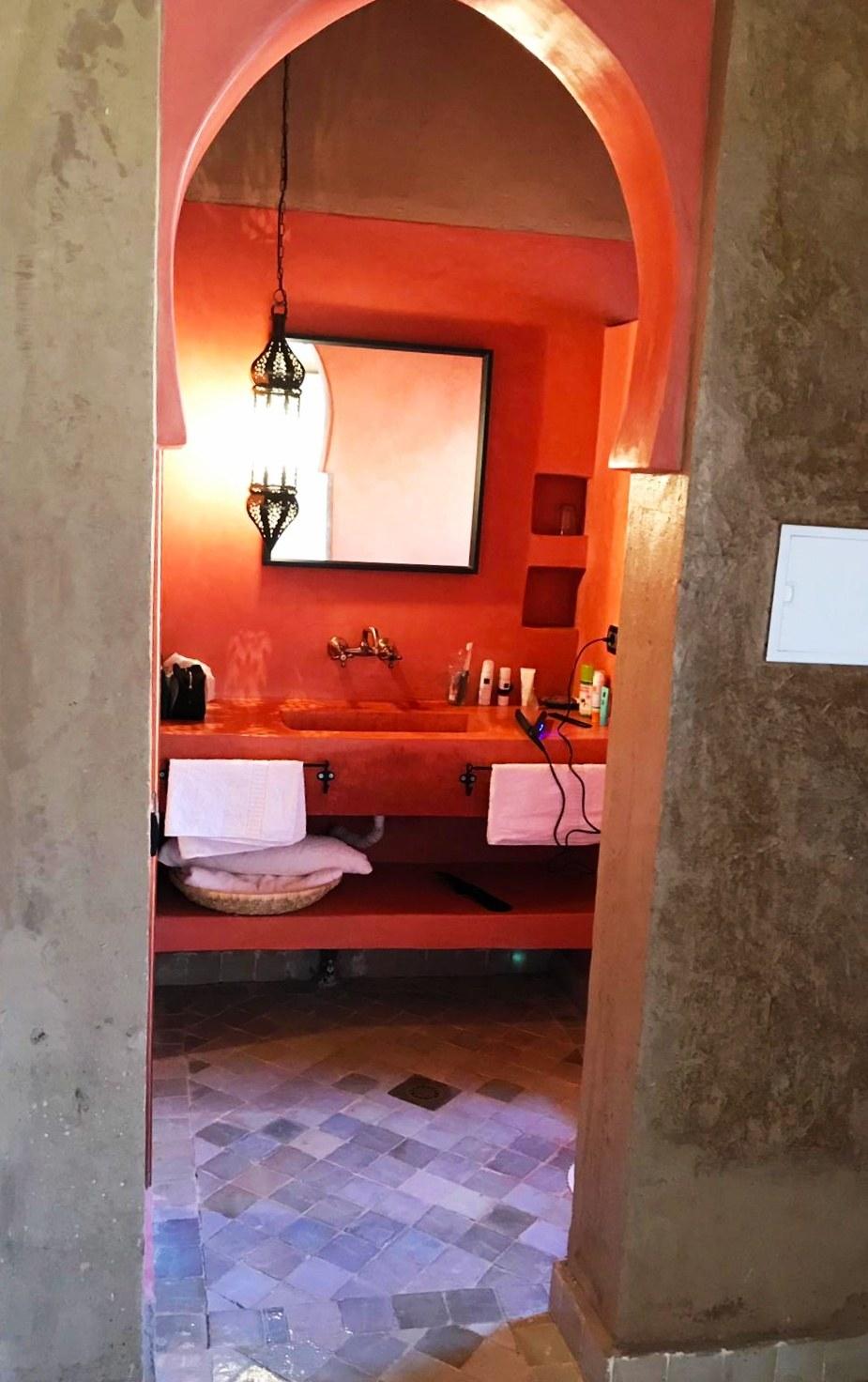 kasbah jardin bathroom