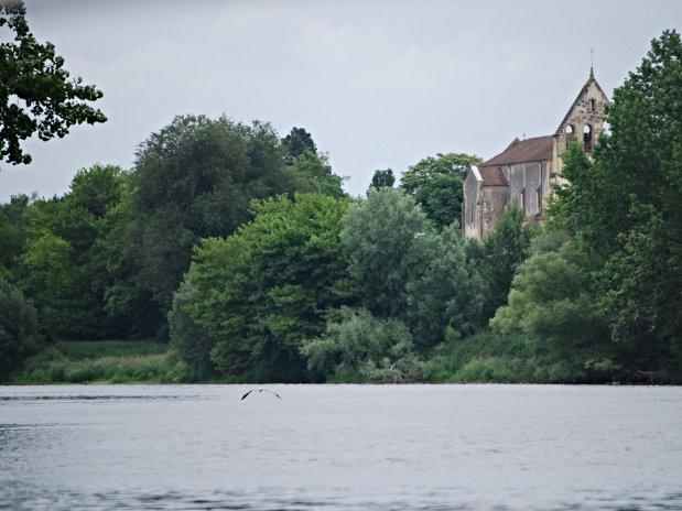 Promenade en bateau sur la Dordogne...