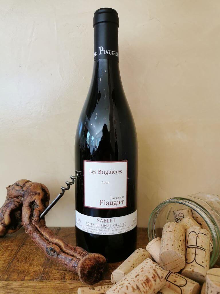 Sablet, vin, Domaine Piaugier, rouge, Les Briguières.