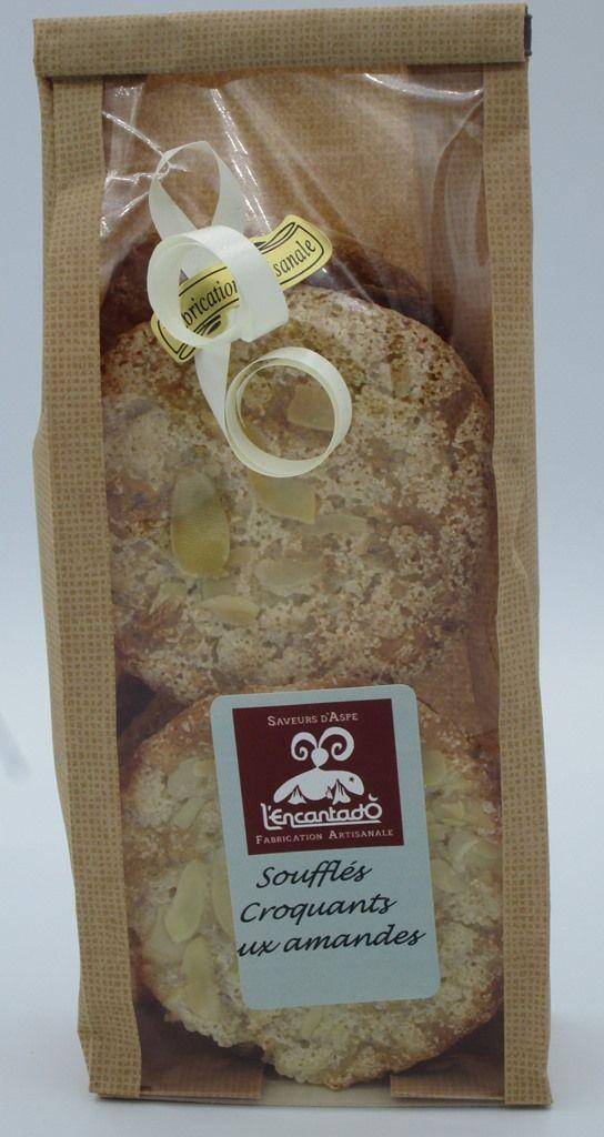 Art biscuits soufflés croquants aux amandes L'ENCANTADÔ, ÉPICERIE FINE ET BAR-RESTAURANT À BEDOUS