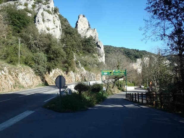 entrée Camping Ardèche