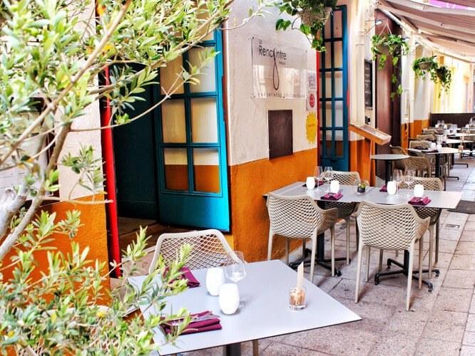 Restaurant La Rencontre à Perpignan dans le département des Pyrénées-Orientales, cuisine, produits frais et vin