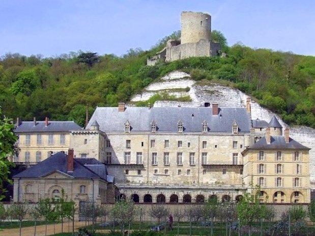 Hotel Les Nymphéas château La Roche-Guyon