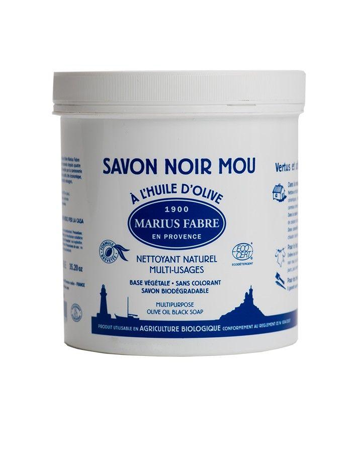 savon noir mou - Marius Fabre - Les trésors de Valérie - Moselle