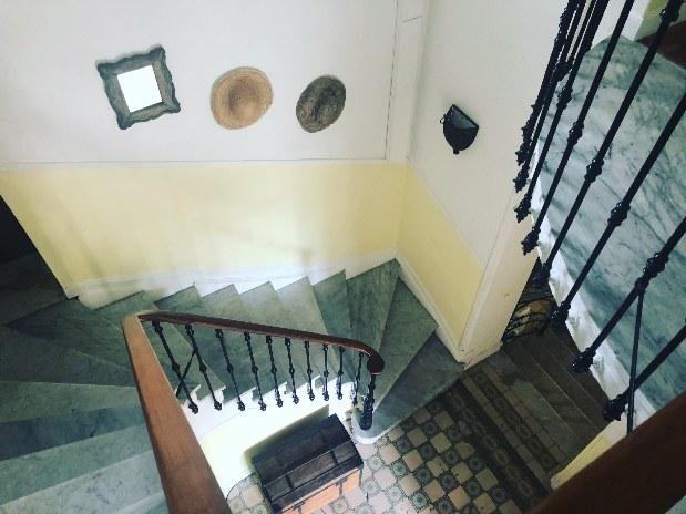 Escaliers e, marbre