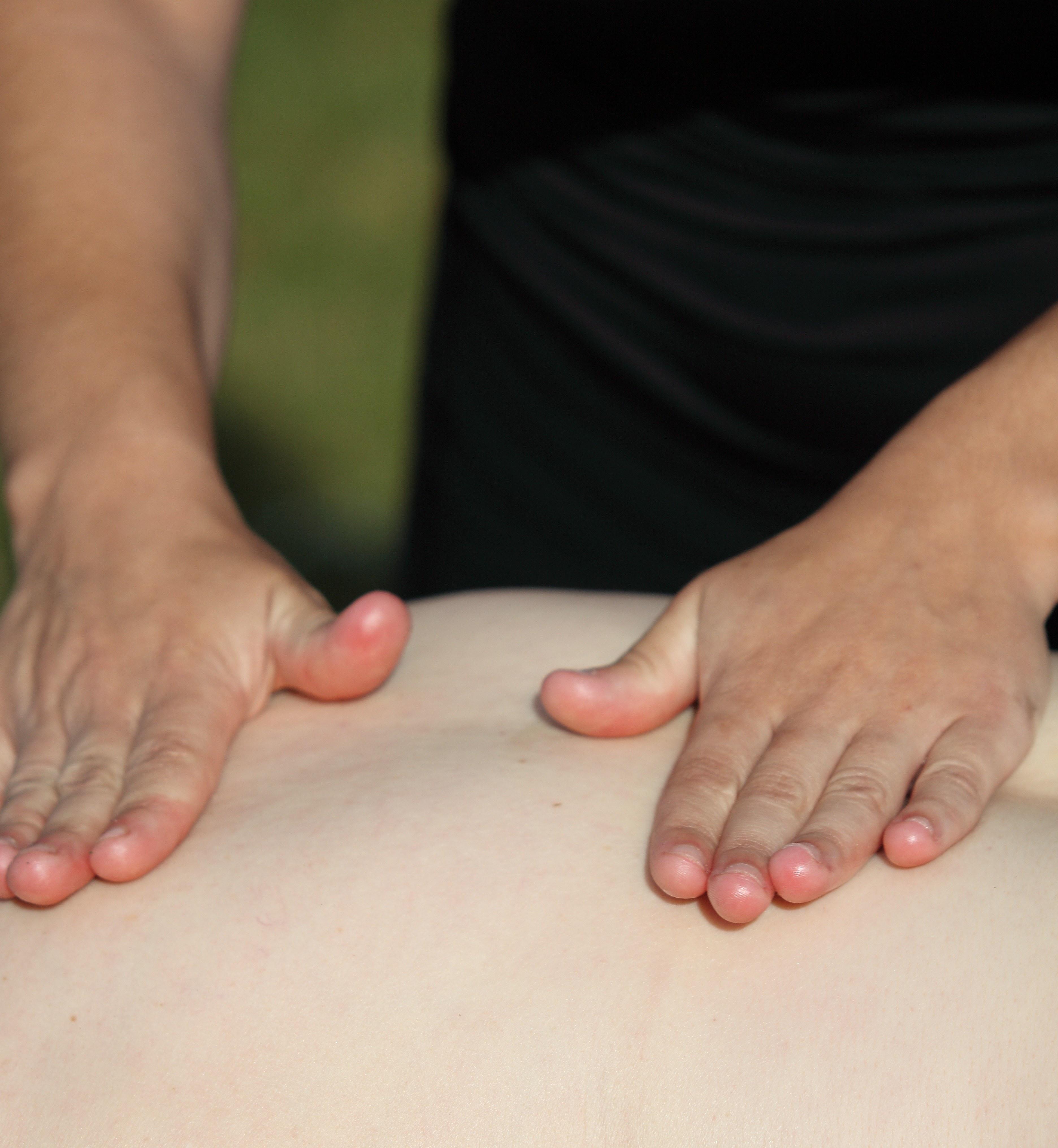 les mains de Nathalie
