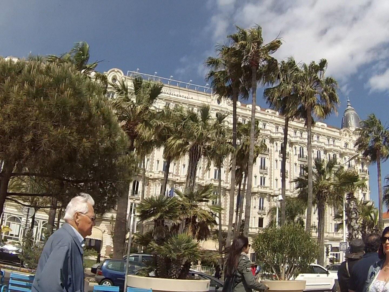 Cannes carlton depuis la Potinière à st raphael fréjus