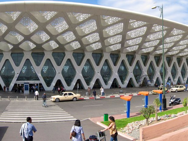 transfert aéroport de marrakech maroc - riad chamali