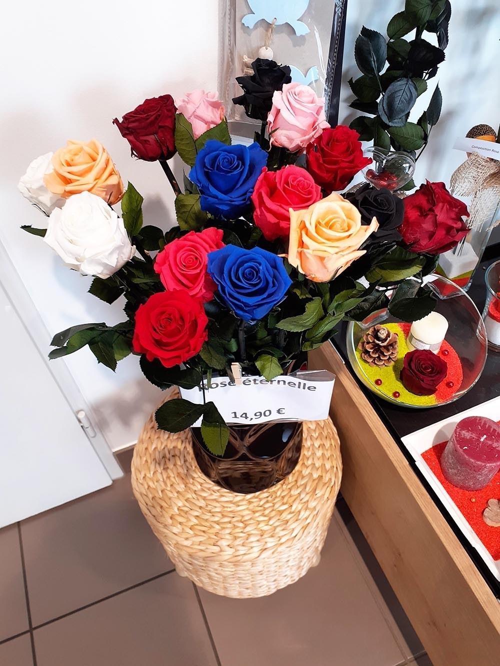 Rose eternelle tige (2)