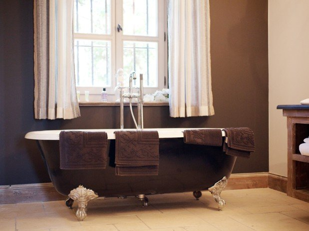 salle de bain baignoire suite maison hôtes luxe provence