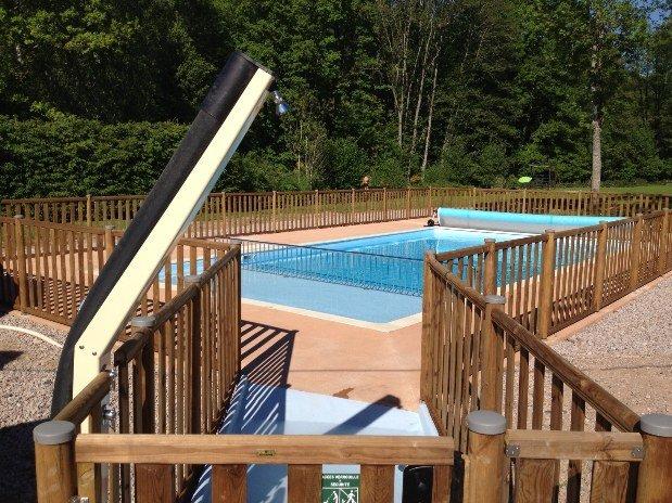 camping au mica piscine